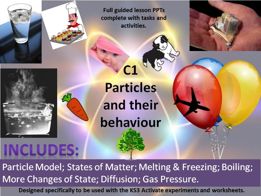 Activate 1:  C1 Particles and their Behaviour - full chapter resources