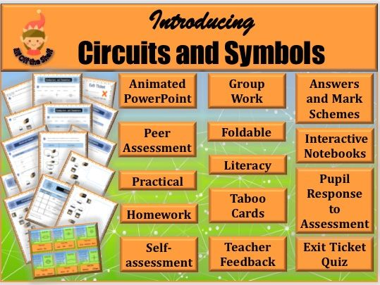 Electricity - Circuits and Symbols KS2