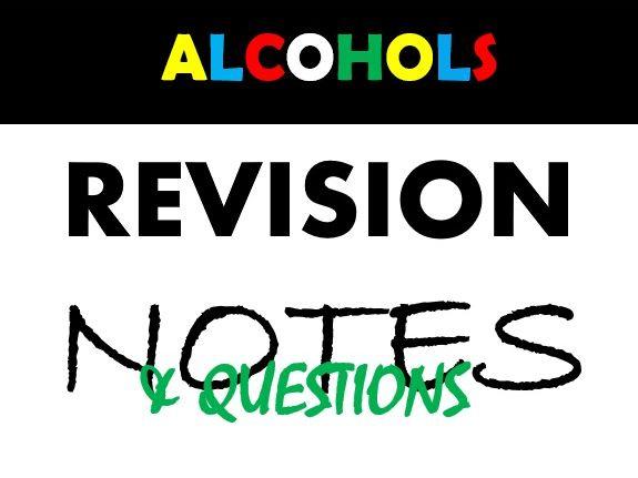 Naming Alcohols