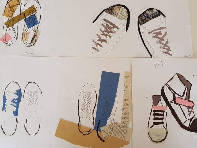 IB MYP Visual Arts Shoe Project Part 2