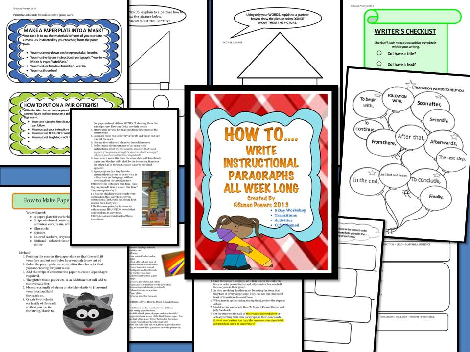 How To....An Hilarious  Instructional Writing Workshop