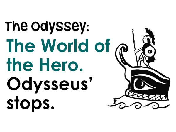 Explore Odysseus' stops on his journey from Troy to Ithaca.