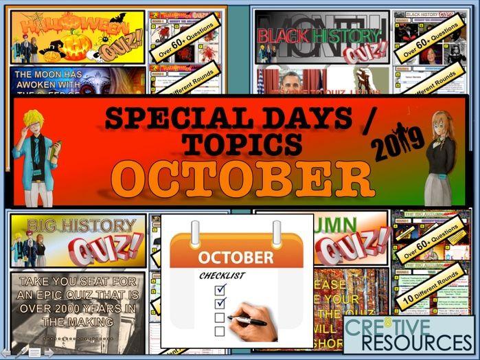 October Tutor Time Activities