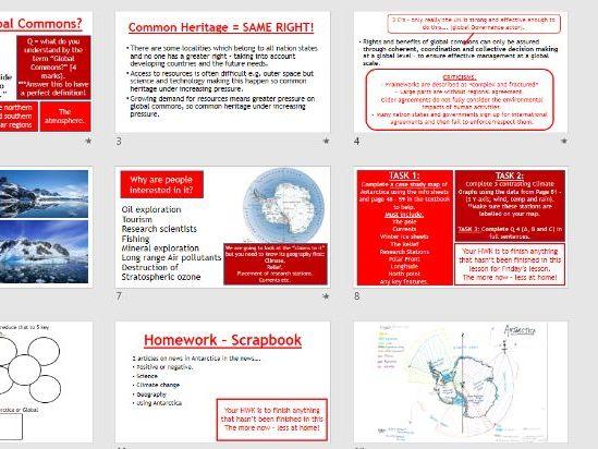AQA Global Governance - L5 Introduction to Antarctica