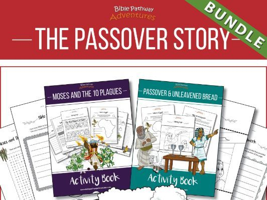 The Passover Story: Activity Books & Lesson Plans