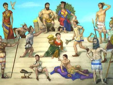 Greek Myths (4 weeks of planning)