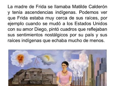 Biografía Frida Khalo A levels
