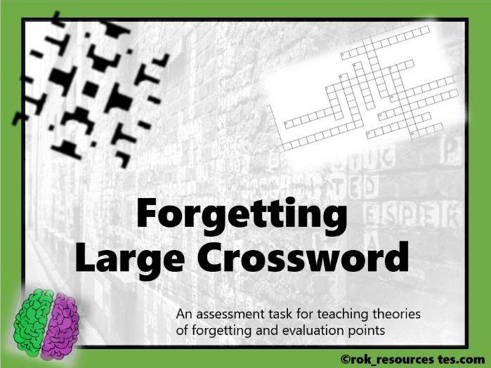Memory Crossword 5