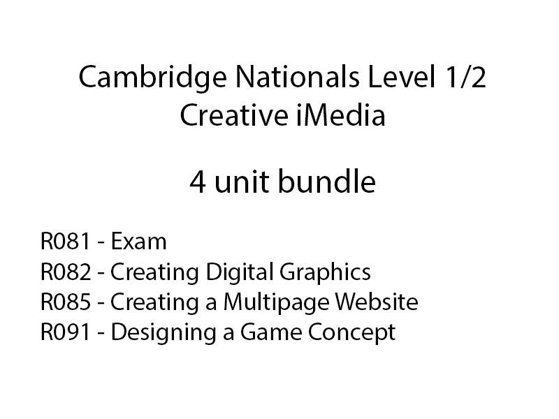 iMedia bundle (R081, R082, R085, R091)