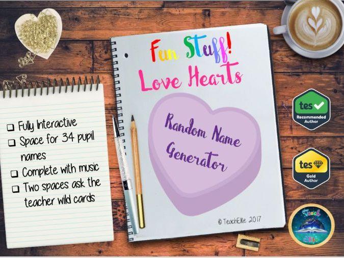 Love : Random Name Generator.