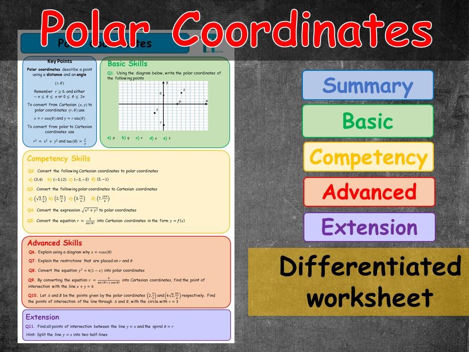 Introduction to polar coordinates