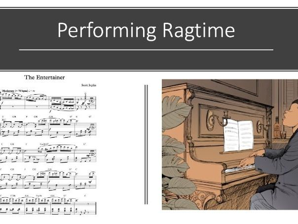 Ragtime and Jazz SOW