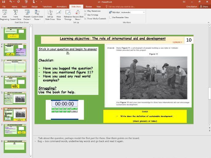 L5- International Aid Nigeria (Unit 2, Section B, pt 2/3, NEE Case study) - [AQA GCSE GEOG new spec]