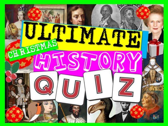 Christmas History Quiz