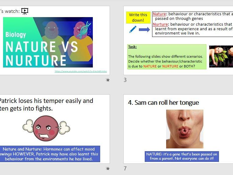 Blood Brothers Intro to Nature vs. Nurture