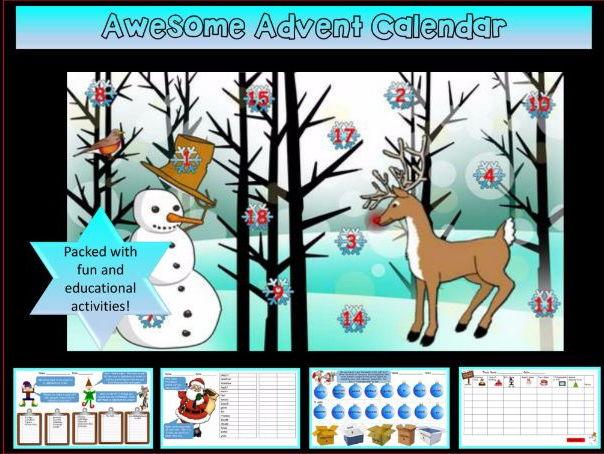 Awesome Christmas / Advent Calendar! Take a peek...