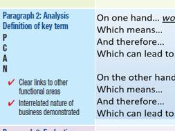 AQA GCSE Business 3.3.1 - Lean Production 12 Mark Question
