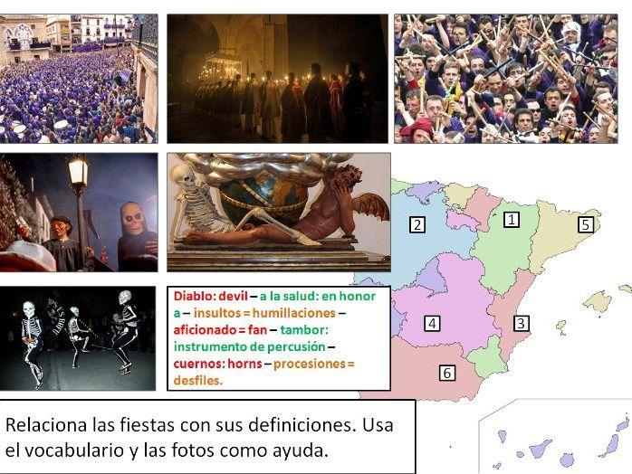 A - Level Spanish: La Semana Santa por España