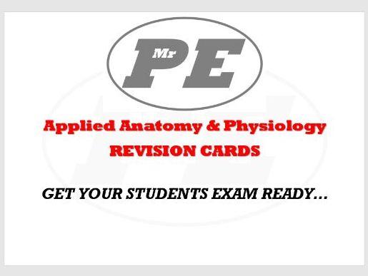 FLASHCARDS Anatomy & Physiology