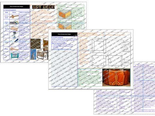 Art & Design: 3D Design Knowledge Organiser: Art Deco Theme