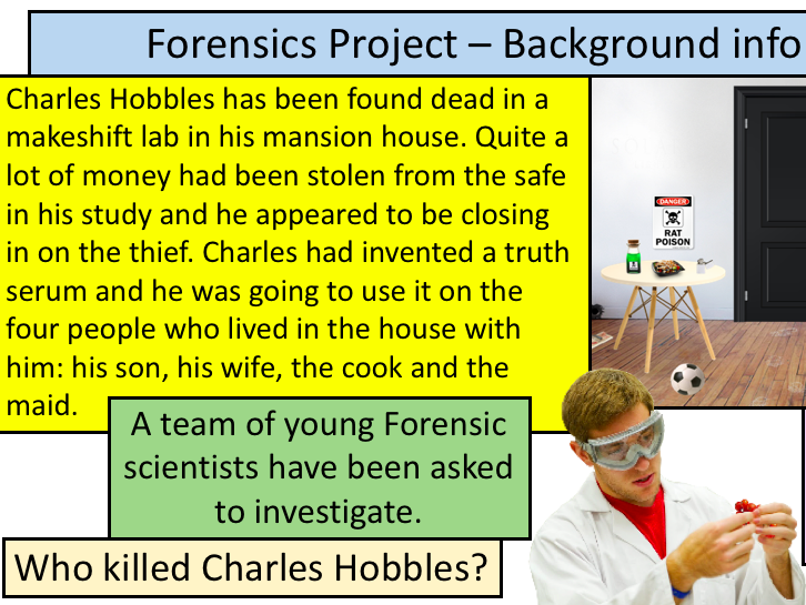 The Forensics Project JACOSA scheme