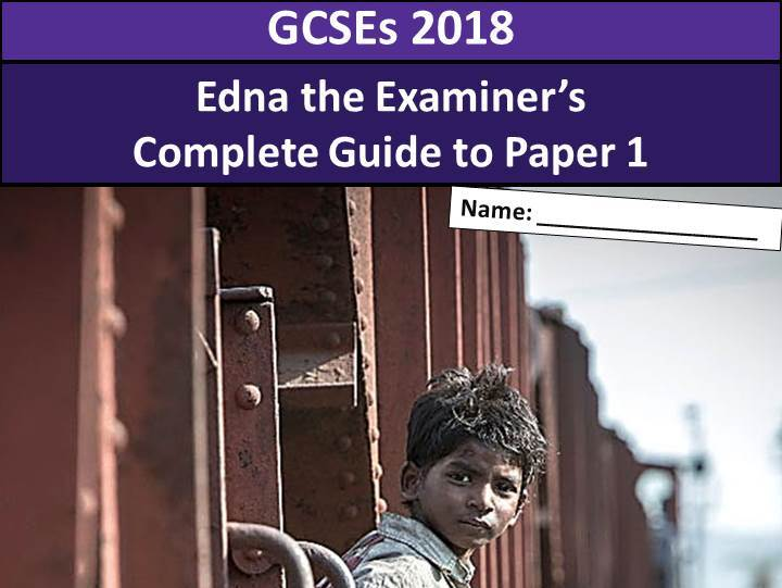 AQA Language Paper 1 - Complete Guide 2018