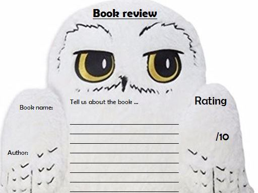 Hedwig/Owl book review template