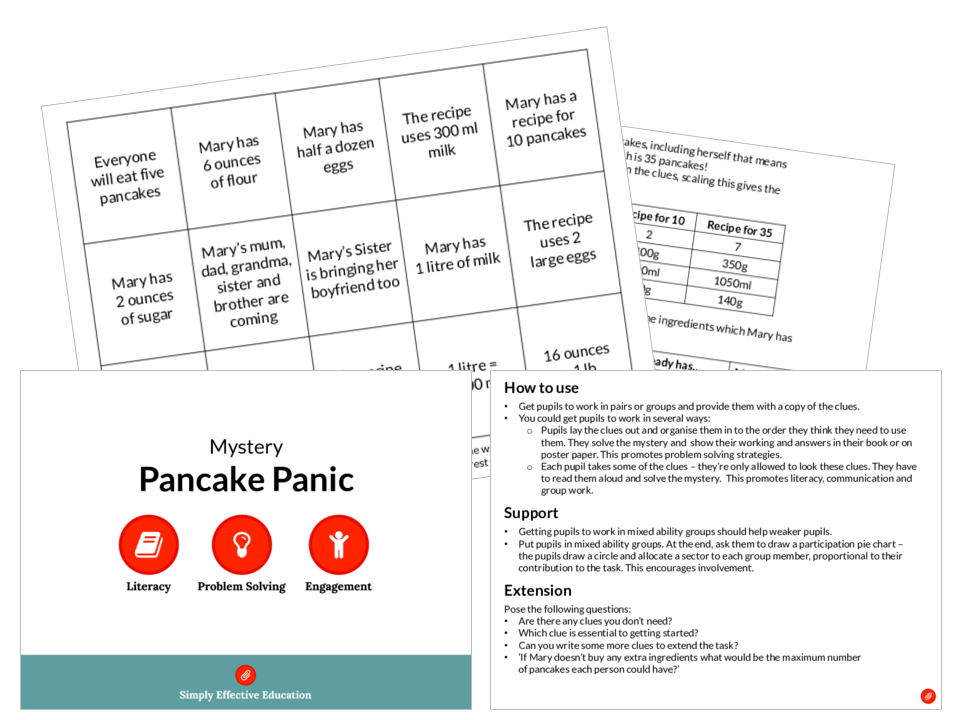 Pancake Panic (Mystery)