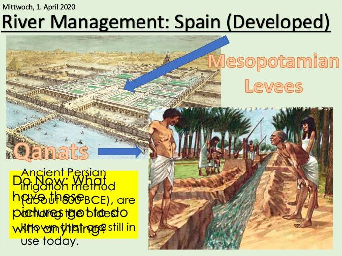 IGCSE Edexcel 9-1 Geography Rivers Water Managament Casestudy Spain