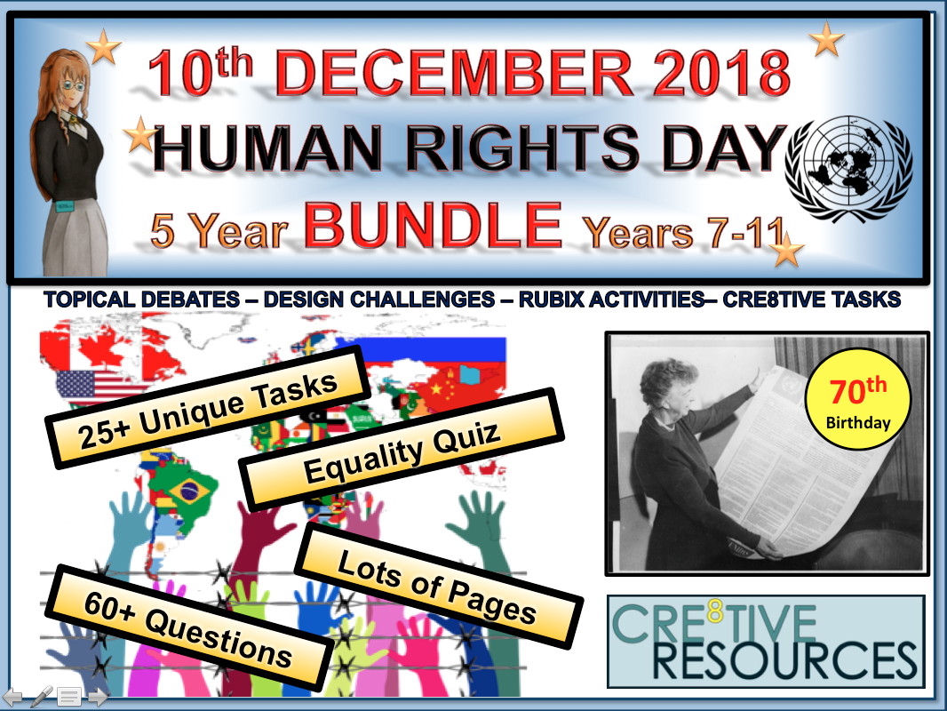 Human Rights Day 2018 UDHR Bundle