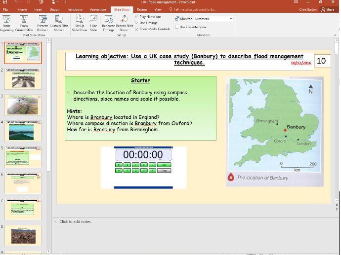 L10 - Flood management case study - (River landscapes UK) - [AQA GCSE Geography new spec]