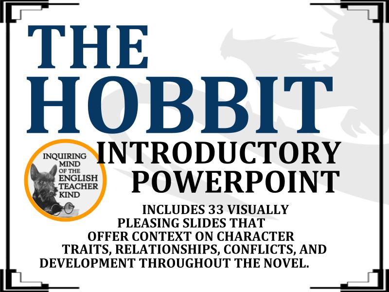 The Hobbit PowerPoint - Character Introductions