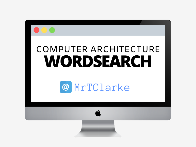 Computer Architecture Wordsearch