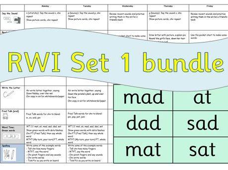 RWI: Read Write Inc Set 1 Planning Bundle