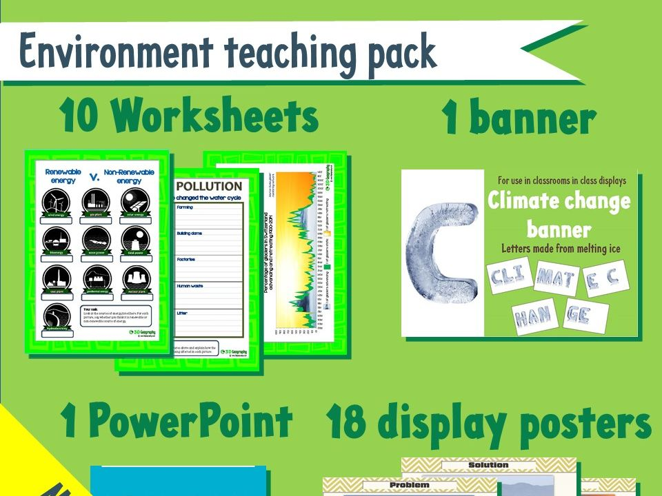 Environment teaching pack