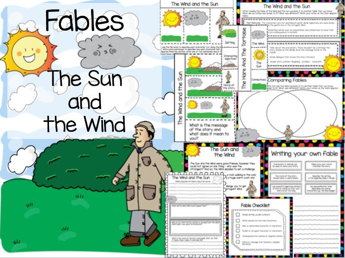 The Wind and the Sun - Fable