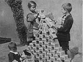 What caused hyperinflation in Germany post WW1? Lesson