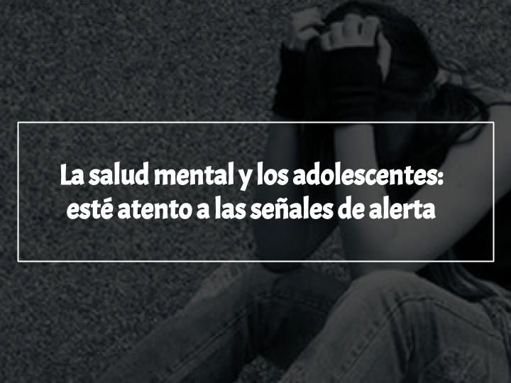 "[Reading Comprehension Task] MYP Phase 2 ""La salud mental y los adolescentes"""