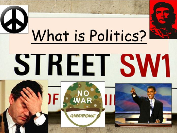 Intro to Politics (New Edexcel A Level UK Politics lessons 1 & 2)