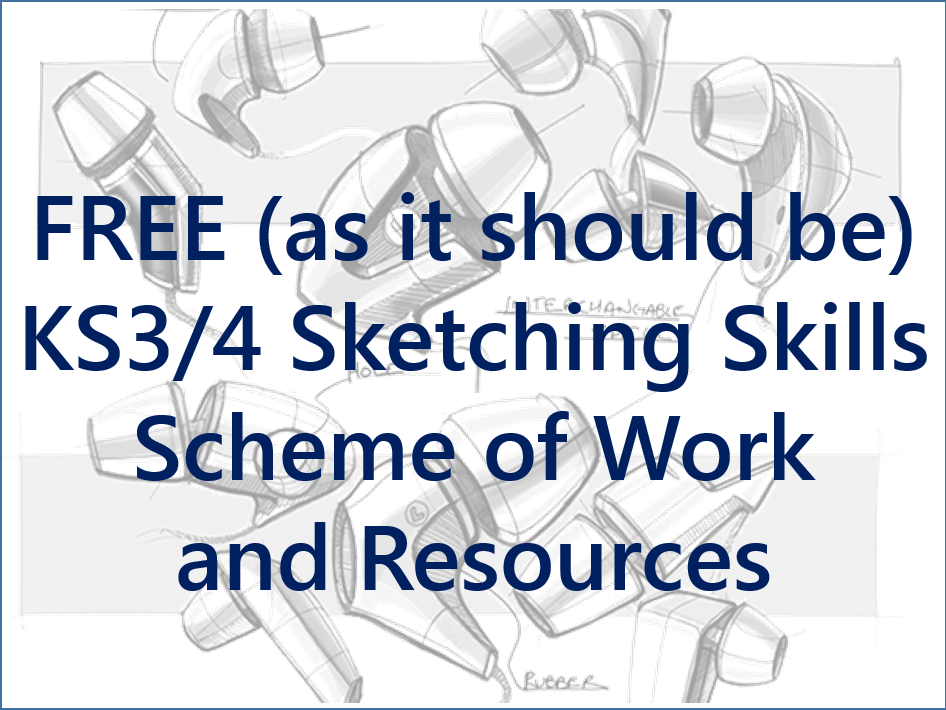 KS3/4 Sketching Skills Full Scheme of Work and Resources