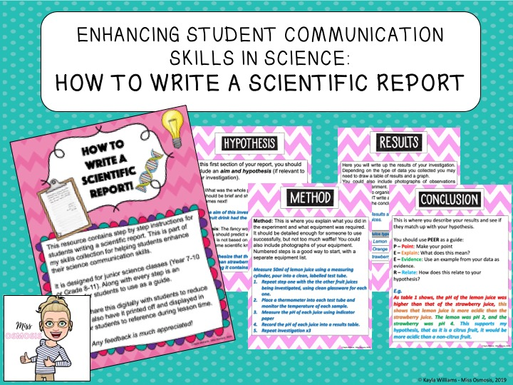 How to Write a Scientific Report!