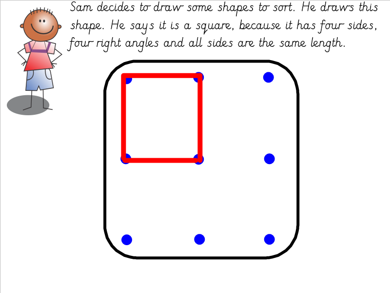 Year 3 Drawing 2D Shapes and Describing Properties