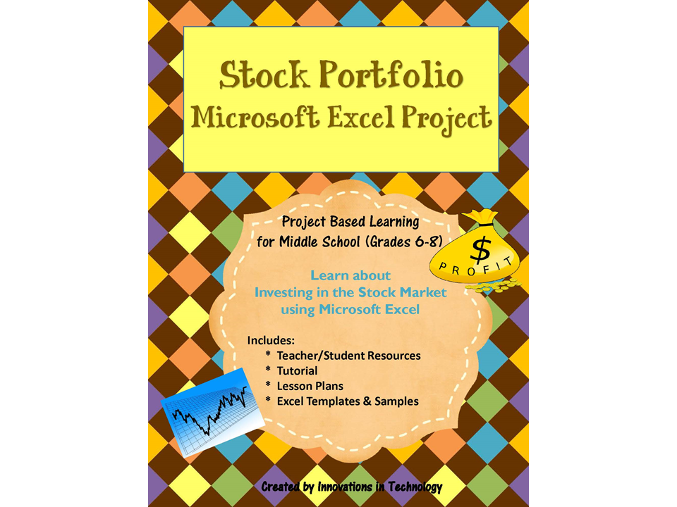 stock portfolio in microsoft excel by innovationsintechnology