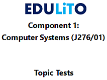 GCSE Computer Science 9-1 - End of Topic Tests - Component 1 Bundle