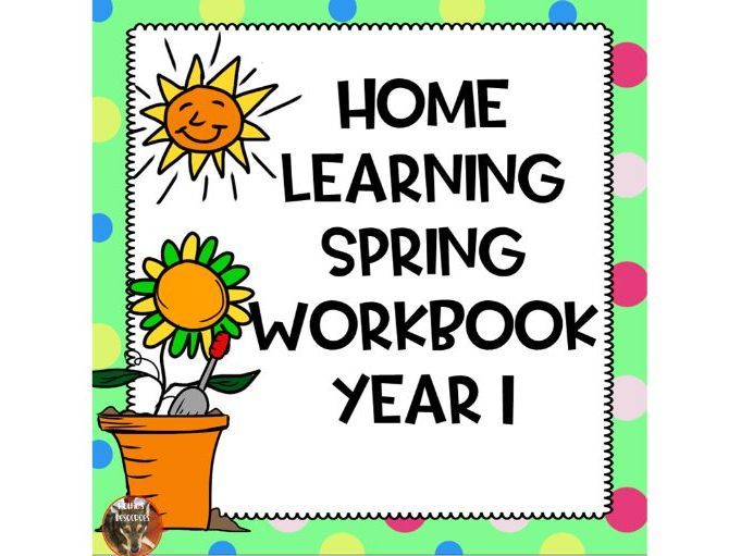 Home Learning Spring Workbook