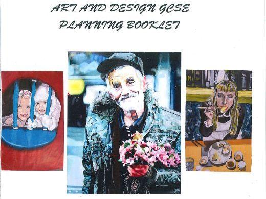 Key stage 4 Art and Design assessment booklet for GCSE