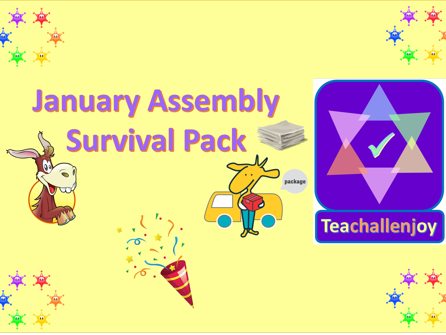 January Assembly Survival Pack