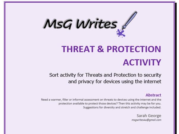 Threat & Protect - ICT Core skills