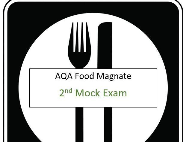 AQA - A-Level Computer Science (Food Magnate) (Short Mock Paper 2)