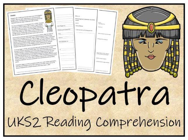 UKS2 Cleopatra Reading Comprehension Activity